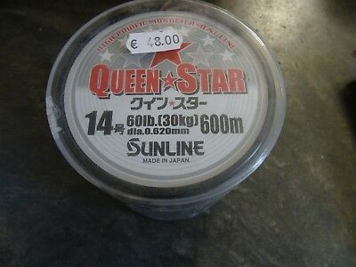 SUNLINE QUEEN STAR - 600mt - 0.620mm - 30kg