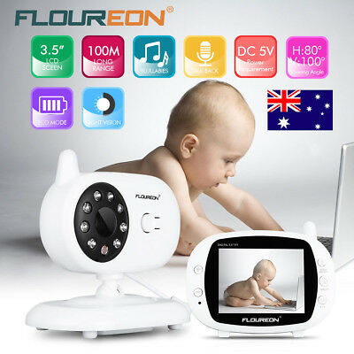 """2.4"""" Color Baby Pet Monitor Camera 2 Way Talk Wireless Security Cam Night Vision"""