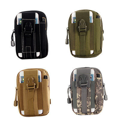 Smart Phone Holster Multipurpose Tactical Utility Gadget Pouch Waist Bag YY