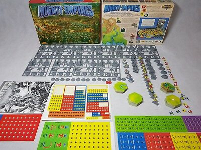 Mighty Empires Board Game - unused, 100% complete, unpunched [ENG, 1990]