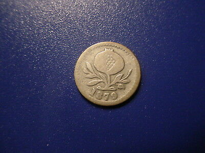 Colombia - Silver -1879 2-1/2-Centavos In Very Nice Condition