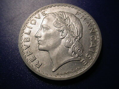 France 1945-B 5-Francs In Excellent Condition