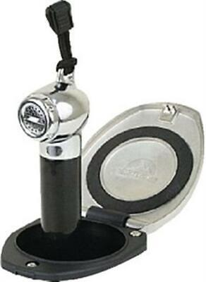 Scandvik Stainless Steel  Recessed Shower With Black Pb H 12124P