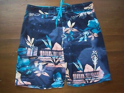 Print Hawaiian 34 Op Shorts Boardshorts Board Men's Euc Size Flex Swim Trunks 2HEYD9IW