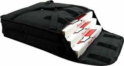 """Pizza Delivery Bags(Holds up to Two 16"""" or Two 18"""" Pizzas)Black"""