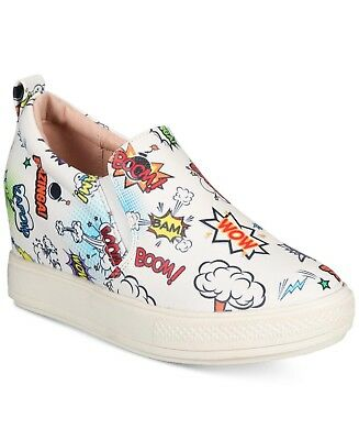 323844ea7def WANTED SHOES WOMEN S White Avenger Comic Wedges Sneaker -  19.99 ...