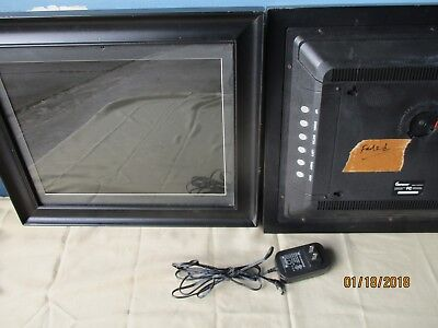 Digital Picture Frame /Signs . 2 IMPECCA Frames DFM 1512 13'' X 10'' .1 Adapter