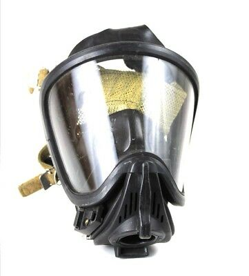 MSA SCBA Ultra Elite MEDIUM Full Face Mask Respirator Firehawk With Rear Mesh