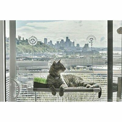 Cat Window Hammock Perch Mounted Sunny Mat Bed Durable Seat Hold Up To 25 Pounds