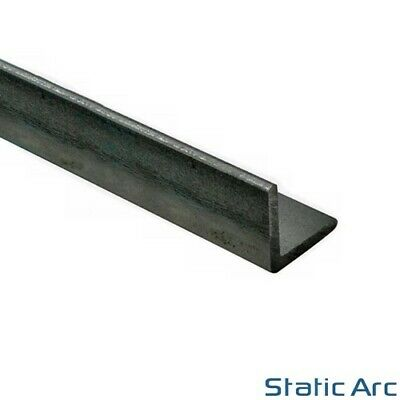MILD STEEL EQUAL ANGLE METAL BAR 3.0/5.0mm THICK / 13-50mm WIDTH CUT LENGTH