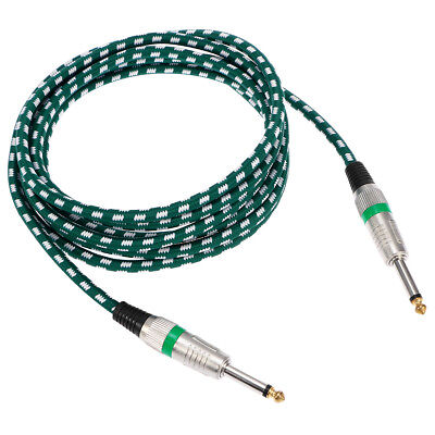 "3M Guitar Lead / Instrument Cable Noiseless Cable with 6.35mm 1/4"" Jacks"