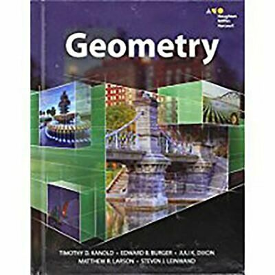 Hmh Geometry: Student Edition 2015 by Houghton Mifflin Harcourt: New