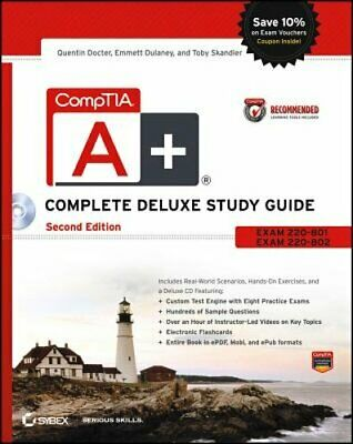 CompTIA A+ Complete Deluxe Study Guide: Exams 220-801 and 220-802 by Docter