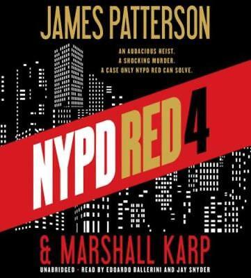 NYPD Red 4 by James Patterson: Used Audiobook