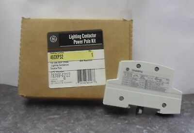 New GE 460XP32 Lighting Contactor 2P Power Pole Kit 30A CR460XP32 NIB
