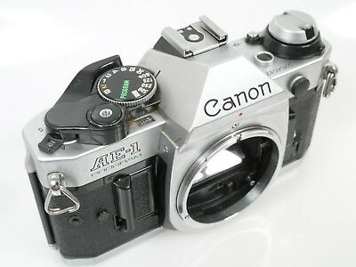 Canon AE-1 PROGRAMM 24x36mm Kleinbildkamera SLR defekt out of order parts Teile