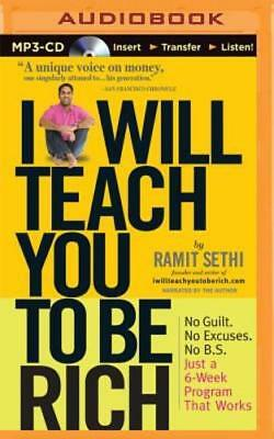 I Will Teach You to Be Rich by Ramit Sethi: New Audiobook