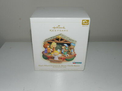 Hallmark Keepsake Peanuts Nativity That's What Christmas is About Charlie Brown