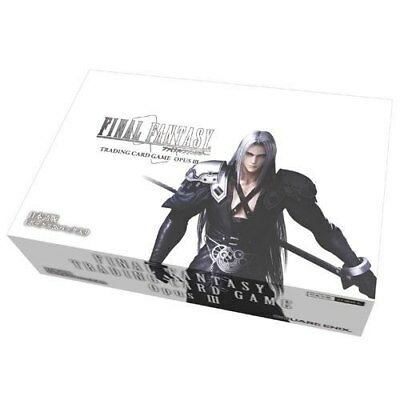 Final Fantasy tCG opus 3 Booster Box Unopened Unused  (36) Packets