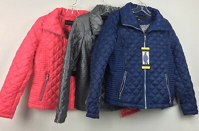 New Andrew Marc Women's Quilted Jacket Full Zip Variety S M L XL XXL
