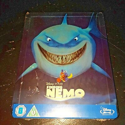 FINDING NEMO Blu-ray Zavvi Exclusive Limited Edition OOP Steelbook New & Sealed+