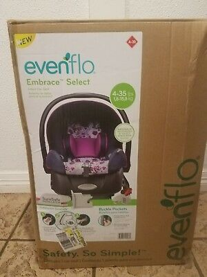 NEW IN BOX Evenflo Embrace Select Infant Car Seat Baby