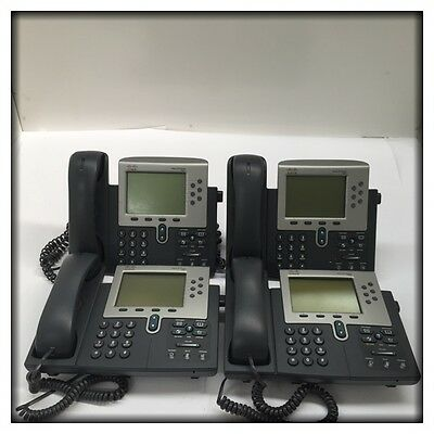 4x Cisco Systems 7970G IP Telephones CP-7970G