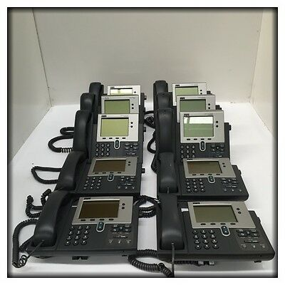 10x Cisco Systems 7912G IP Telephones CP-7912G