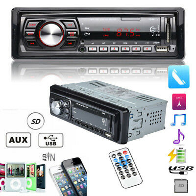 Car Audio Stereo In-Dash DVD CD MP3 Radio Player SD Input AUX FM Receiver Player
