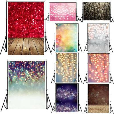 Dreamlike Glitter Haloes Photography Background Studio Props Backdrops 3x5/5x7ft