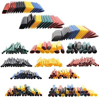 328 pc 2:1 Cable Heat Shrink Tubing Tube Sleeve Wrap Wire Assortment 8 Size US
