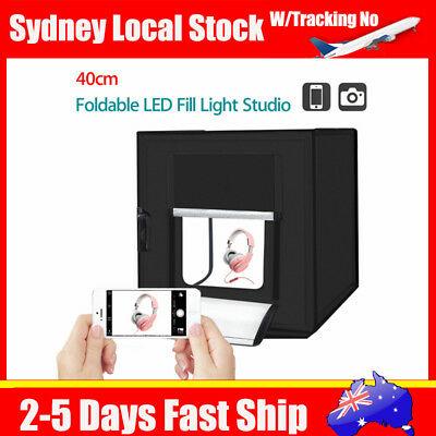 PortableBlack 16*16*16inch Tent Photo Accessories Studio Light Room+Power Supply