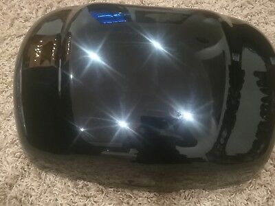 Jet Black OEM Triumph Top Box Lid For Sprint ST RS Tiger Genuine NEW
