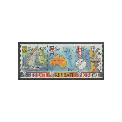 Kiribati - 1986 - No 163/165 - Navigation - Sports divers