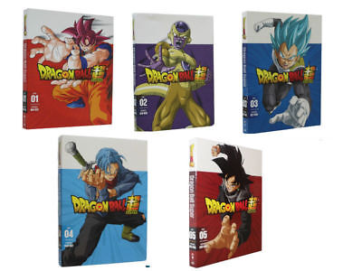 Dragon Ball z Super Part One and two 1 & 2 dvd New Sealed Free shipping