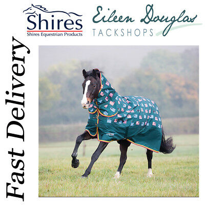 Shires Tempest 200G Combo Turnout Medium Weight Sheep Print ***sale***