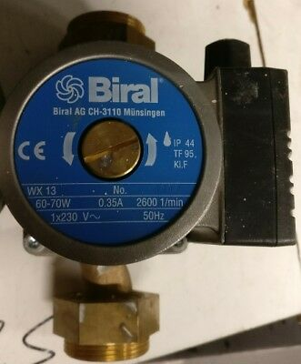 Biral WX13 230v 150mm Bronze Pump 1154050150