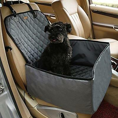 Dog Car Seat Cover Pet Carrier 2 In 1 Foldable Waterproof Non-Slip Travel Cover