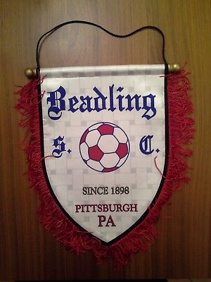 GAGLIARDETTO CALCIO BEADLING SOCCER CLUB PITTSBURGH Pennsylvania since 1898