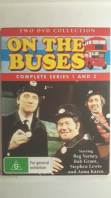 On the Buses : Season 1-2 [ 2 DVD Set ] LIKE NEW, Region 4, FREE Next Day Post