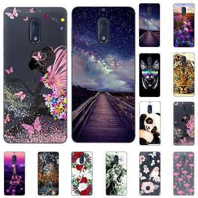 For LG K8 K10 2017 Soft Silicone Painting Painted Slim TPU Back Cover Case