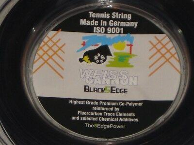 Weiss CANNON Black5Edge 200m String Reel 1.24mm JNQLD