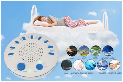 Professional Baby & Adult Night Sleep 9 Sounds Relax Therapy Machine With Timer