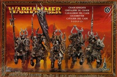 *New* Slaves of Darkness Chaos Knights (x5) Age of Sigmar *Unassembled*