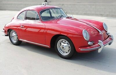 Porsche 1960 356 coupe 1600, California black plate, beautiful driver, Bremen!
