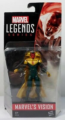 Hasbro 2015 Marvel Legends Universe 3.75'' Vision Action Figure Mosc Sealed