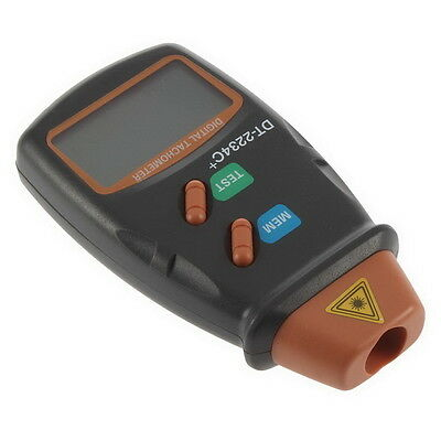 Digital Laser Photo Tachometer Non Contact RPM Tach Tester RPM Motors Hot ED