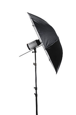 "33"" Black/White Reflective Photo Video Studio Umbrella For Flash Lighting ED"