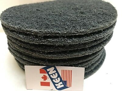 "10- Extra Fine 4"" Hook & Loop Surface Conditioning Discs KEEN BRITE™ 55483"
