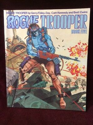 Rogue Trooper Book Five 1st Edition Finley-Day Kennedy Ewins 0907610676